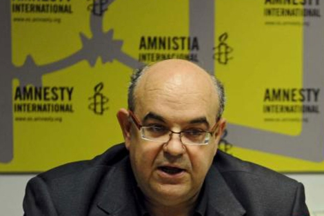 El director de Amnistía Internacional España, Esteban Beltrán.| EM