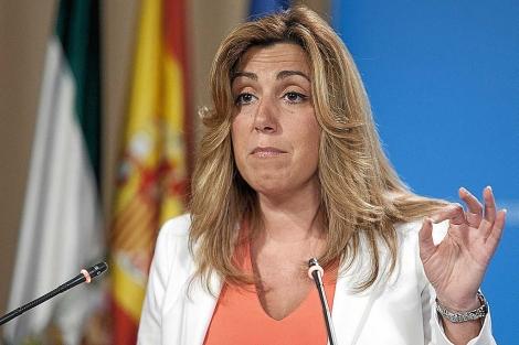 Susana Díaz, en un acto institucional reciente. | Conchitina