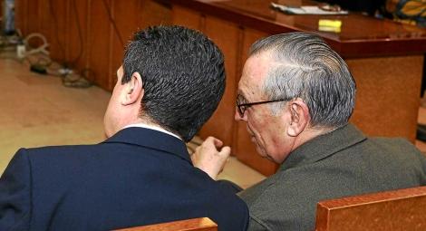 Matas y Alemany durante el juicio en 2012. | Pep Vicens