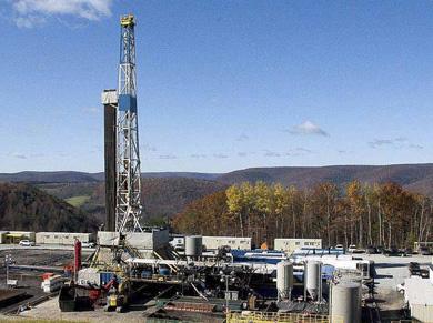 Planta de 'fracking' en Estados Unidos. | Susan Brantley