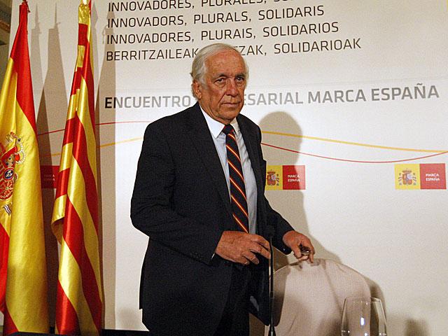 Carlos Espinosa de los Monteros, esta mañana en Barcelona. | Antonio Moreno