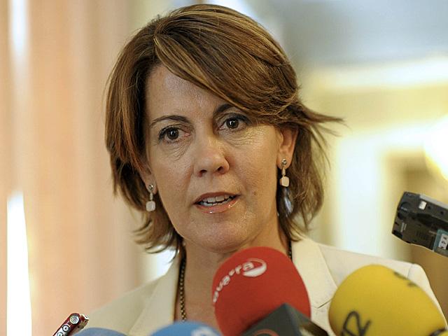 La presidenta del Gobierno de Navarra, Yolanda Barcina.   Villar López/ Efe