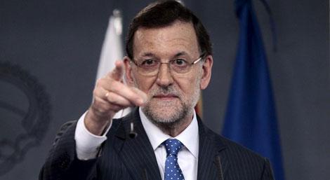 El presidente del Gobierno, Mariano Rajoy.| Antonio Heredia