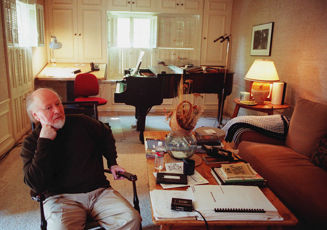 John Williams, en su casa de Los Ángeles. | AP
