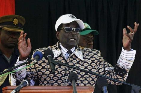 El presidente de Zimbabue Robert Mugabe. | Reuters
