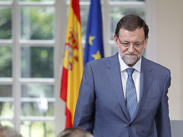 Mariano Rajoy, el pasado martes en la firma del pacto sobre la sanidad. | Carlos Barajas