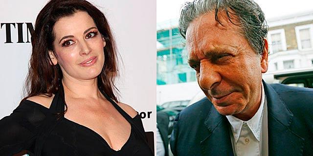 Nigella Lawson y Charles Saatchi, ya oficialmente divorciados.  Gtres   Reuters