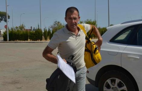 Miquel Nadal a su llegada al centro penitenciario de Palma. | C. Forteza