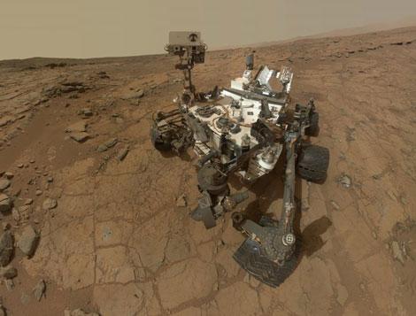 Autorretrato de 'Curiosity'. | NASA
