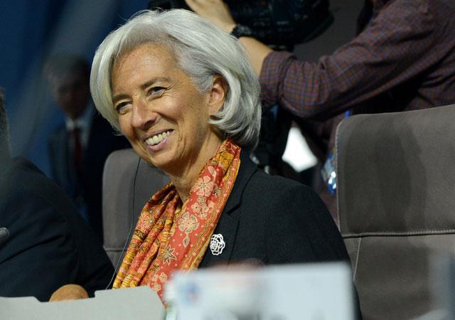 Christine Lagarde, directora del FMI, en la reunión del G-20 | Kirill Kudryavtsev