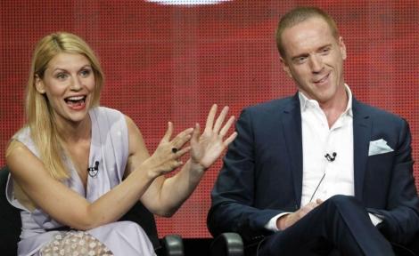 Claire Danes y Damian Lewis hablan de su serie en la TCA. | Foto: Mario Anzuoni