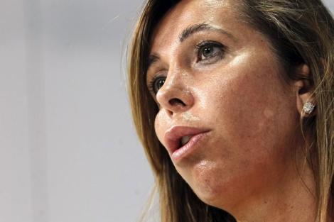 La líder del PP en Cataluña, Alicia Sánchez-Camacho. | Efe