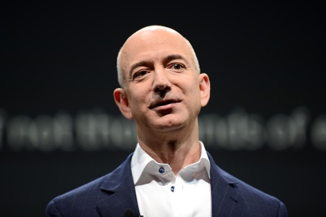 Jeff Bezos, fundador de Amazon, en una imagen de septiembre de 2012. | Afp