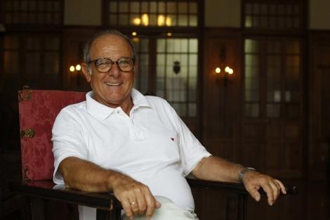 El actor Emilio Gutiérrez Caba, en los cursos de la UIMP en 2012. | David S. Bustamante