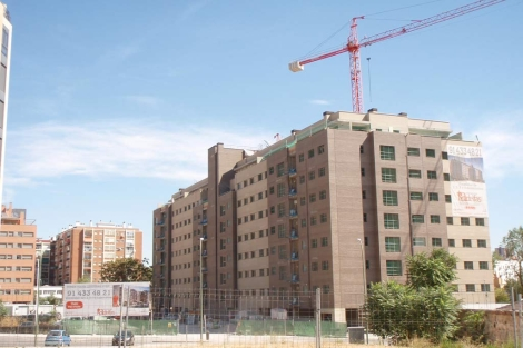 Promoción de viviendas en Madrid terminada durante el primer semestre. | J. F. L.