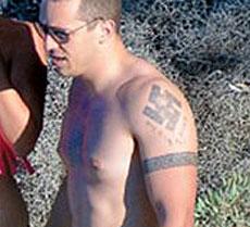 Detalle del tatuaje. | 'Proto Thema'