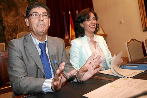 Diego Valderas, durante una comparecencia en Córdoba. | M. Cubero