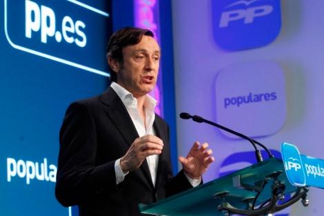 El portavoz del PP en el Congreso, Rafael Hernando. | José Aymá