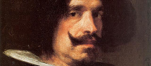 Detalle del autorretrato de Velázquez (c. 1640), del Museo de Bellas Artes de Valencia.