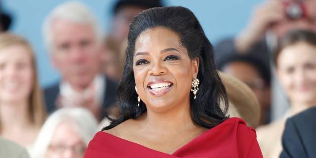 Oprah Winfrey durante una ceremonia en la Universidad Harvard. | Gtres