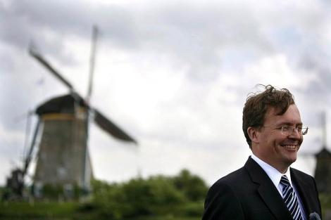 El fallecido príncipe Friso en la localidad holandesa de Kinderdijk.   Efe