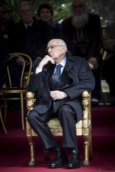 Giorgio Napolitano, presidente de Italia.| Efe