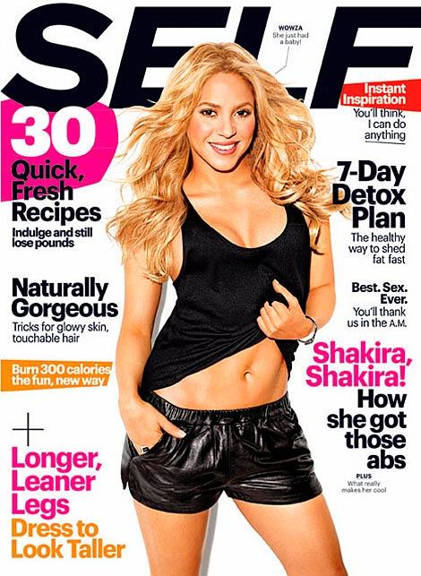 Shakira luce cuerpo tras el parto: 'Estoy orgullosa de mi trasero' | elmundo.es