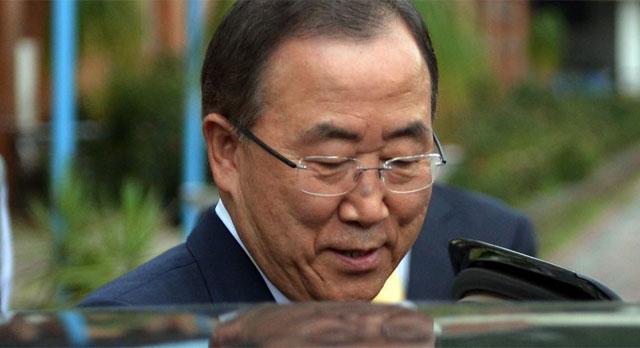 Imagen de archivo de Ban Ki-moon.   Foto: Afp