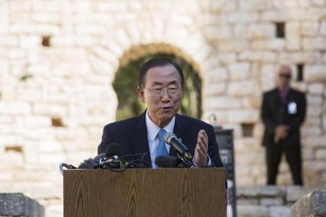 El secretario general de la ONU, Ban Ki-moon. | Reuters