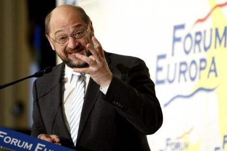El presidente del Parlamento Europeo, Martin Schultz. | Carlos Barajas
