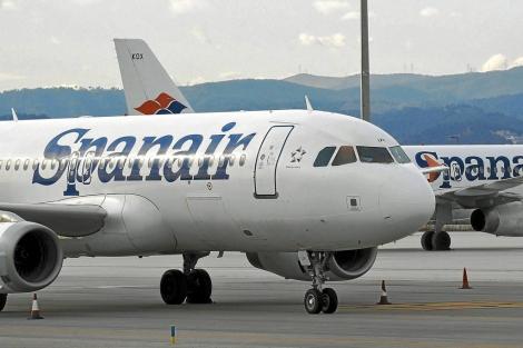 Avión de la compañía aérea Spanair   ELMUNDO