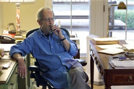 Elmore Leonard, en una imagen de archivo.   Ap
