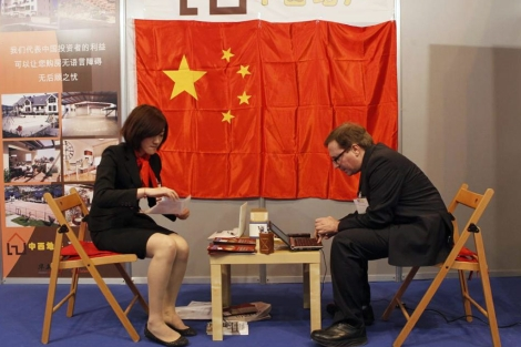 Imagen de archivo del área para clientes chinos en el Sima. | S. G.