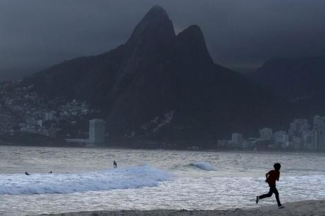 La playa de Ipanema en Río de Janeiro. | Reuters