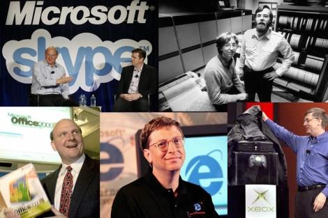 Un recorrido por la historia de Microsoft.| Reuters