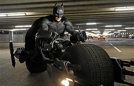 Imagen de Christian Bale interpretando a Batman en la última película de la saga.