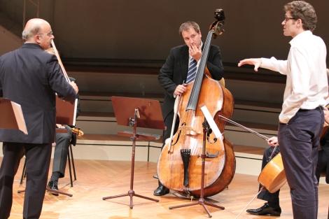 Varios músicos en la Filarmónica de Berlín | Arturo Cardelús