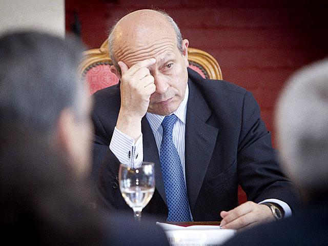 El ministro de Educación, José Ignacio Wert, el pasado mes de julio en Santander. | David S. Bustamante