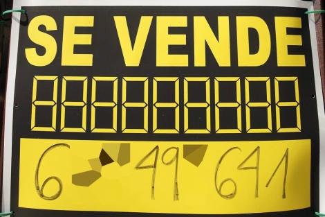 Ejemplo de cartel que no debe incluir información energética. | ELMUNDO.es