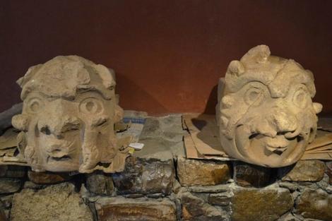 Imagen de las dos cabezas.  Efe