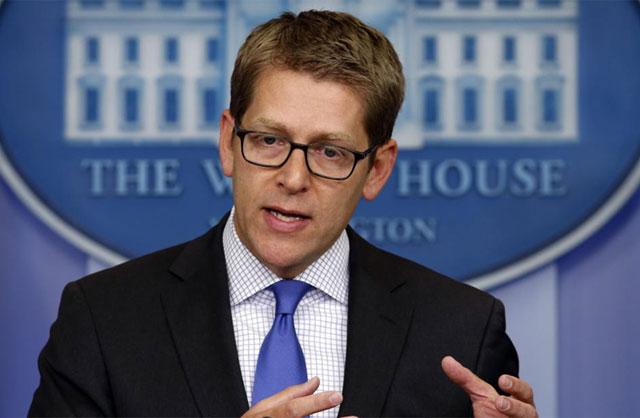 Carney, durante la rueda de prensa. | Reuters