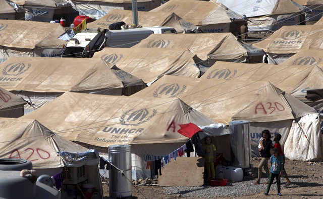 Un campo de refugiados sirios.| Reuters/Azad Lashkari