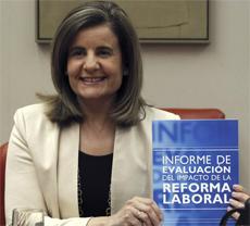 Fátima Báñez.   Efe