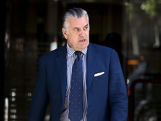 Luis Bárcenas, saliendo de la Audiencia Nacional el pasado 15 de junio. | Antonio Heredia