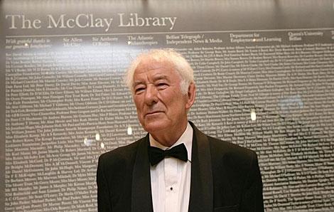 Imagen de archivo de Seamus Heaney en 2010. | Afp