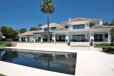 Casa de la inmobiliaria Kristina Szekely en alquiler por 25.000 euros al mes. | ksmarbella.com
