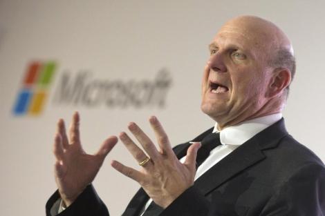 Steve Ballmer, actual presidente de Microsoft. | Efe