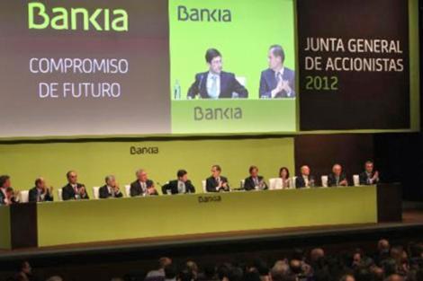 Junta directiva de Bankia. | ELMUNDO.es