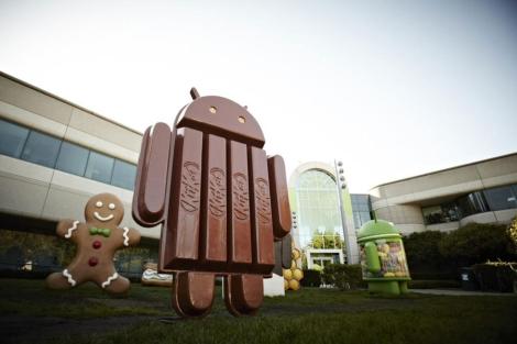 La nueva 'mascota' de Android.   Afp