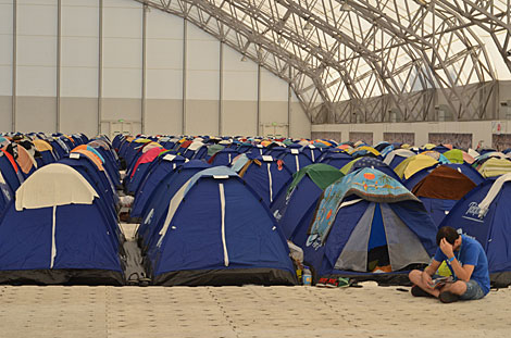 Zona de acampada. | M. S.